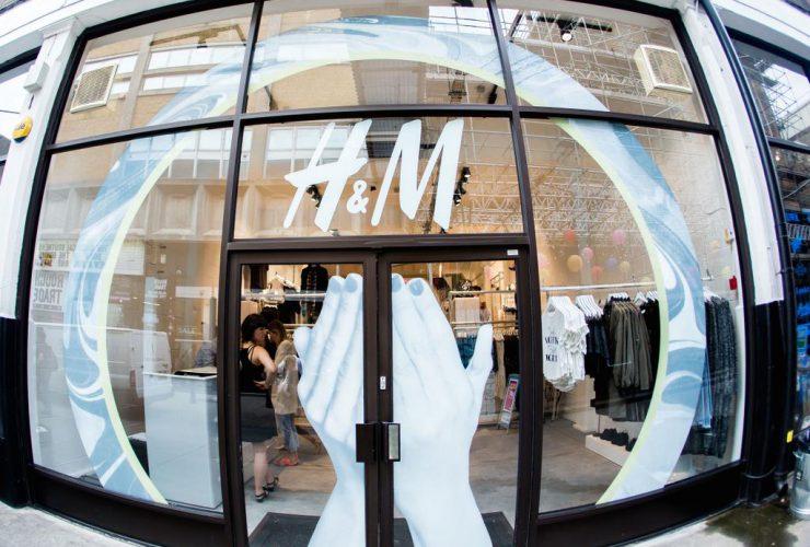 H&M Pop-up shop