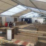 Bespoke Bar built by Trinity Set & Stage, for Sharp's Brewery at the Royal Cornwall Show '17