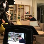 The Green Room is streamed live to Facebook